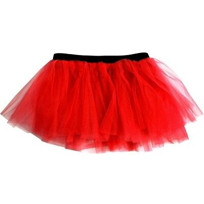 (Red) - Runners Tutu | Lightweight | One Size Fits Most | Colourful Running Skir