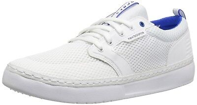 (6 D(M) US, White/Blue) - New Balance Men's Apres Baseball Shoe. Delivery is Fre