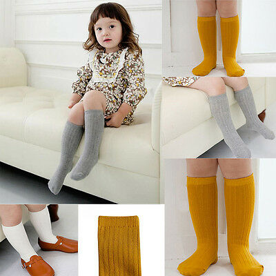 POP Sweet Baby Infant Toddler Children Kid Girls Cotton Knee High Socks Leggings