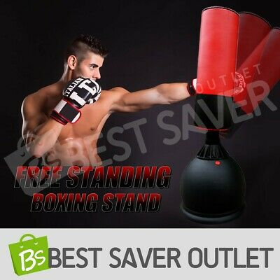 Home Gym Punching Bag Dummy Target Fitness Practice Boxing Stand Free Standing