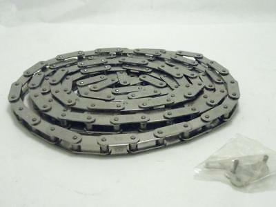 154185 New-No Box, Tsubaki 2040AS Double Pitch Roller Chain 10' Length, SS