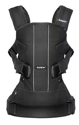 BabyBjorn Baby Carrier One Black, Cotton Mix Bjorn