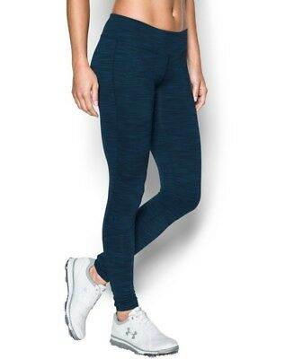 (Large, Academy) - Under Armour Women's Links Legging. Delivery is Free