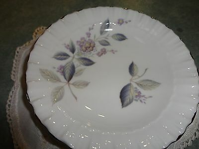 Royal Adderley Pin Ring Jewelry Dish Floral Bone China England Breath of Spring