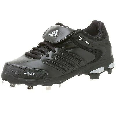(15 D(M) US, Black/Blk/Metsilver) - adidas Men's Diamond King Ds Baseball Shoe.