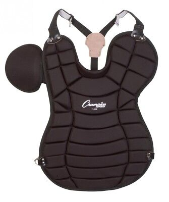 (42cm , Black) - Champion Sports Pro Adult Model Chest Protector. Shipping Inclu