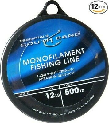 (12) - Maurice Sporting Goods M1412 Monofilament Fishing Line, 5.4kg./500-Yds.