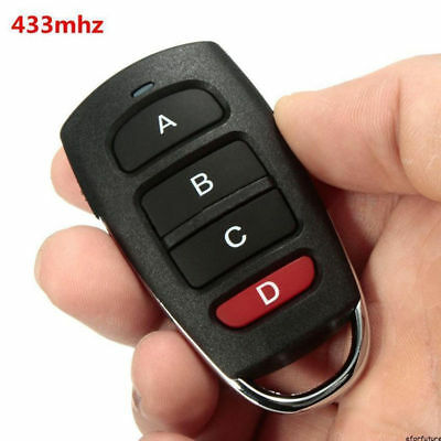 Universal FOB Cloning Cloner 433mhz Electric Gate Garage Door Remote Control Key