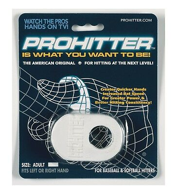 (Adult Size, White) - Prohitter Batters Training Aid. Free Delivery