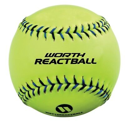 Worth 5-Tool 30cm Softball React Ball. Free Delivery
