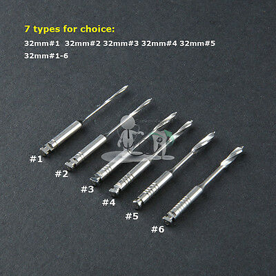 Dental Peeso Reamers Stainless Steel pack of 32mm #1#2#3#4#6#1-6,7Type Optional