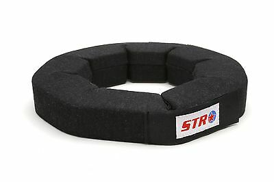 STR SFI Approved Neck Support Brace Collar Oval Race Kart Mini F2 - Medium Black