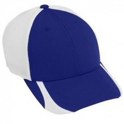 FLEXFIT CONTENDER CAP - YOUTH - PURPLE/WHITE. Free Delivery