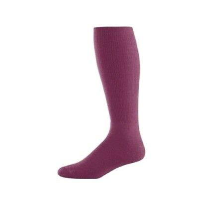 Game Day Socks Maroon Medium. Free Delivery