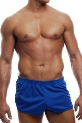 (Large) - Go Softwear AJ Running Shorts - Royal. Free Delivery