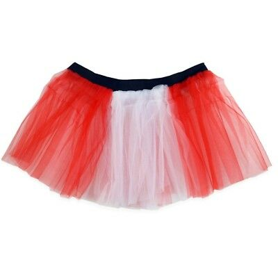 (Red and White) - Runners Tutu | Lightweight | One Size Fits Most | Colourful Ru