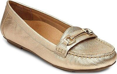 (6.5 B(M) US, Gold) - Vionic with Orthaheel Technology Women's Kenya Loafer