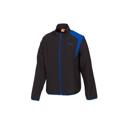 (Small, Black) - Puma Men's Woven Track Jacket. Shipping is Free