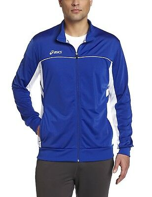 (X-Large, Royal/White) - ASICS Men's Cabrillo Jacket. Shipping Included