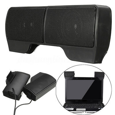 Mini portable 6W 5V USB Power Stereo Sound Speaker pour PC Ordinateur portable N