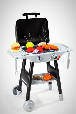 BBQ Pretend Play Food Kids Play Grill Barbecue Boys Girls Toddlers Children Gift