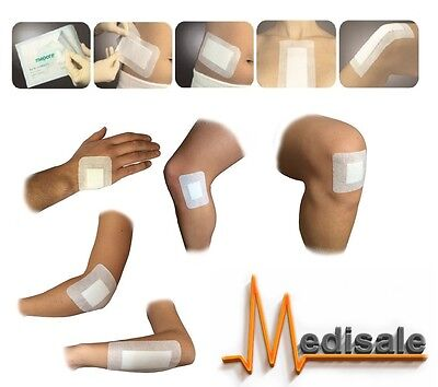 Adhesive Wound Dressing Big Plasters First Aid Cuts Burns Sterile Pad BEST UK**