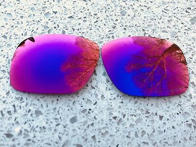 Etched Polarized Positive Red Mirrored Replacement Oakley Holbrook Lenses