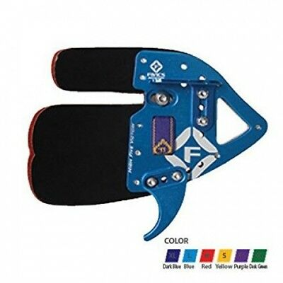 (XX-Small, Right Hand) - Fivics Saker 1 Finger Tab. Shipping is Free