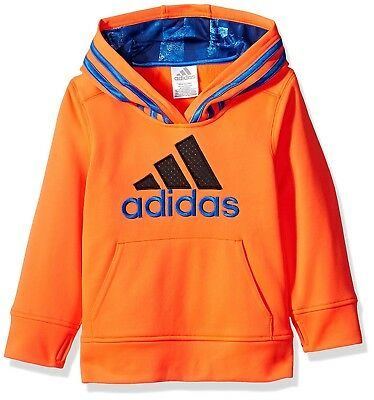 (Toddler Boys, 2T, Solar Red) - adidas Boys' Classic Pullover Hoodie. Brand New