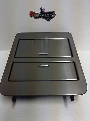 23164630 Brushed Metal Console Cup Holder Storage Full Size GM Trucks & Suv's