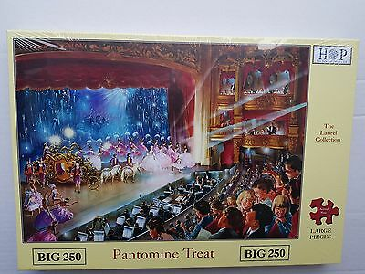 New Pantomine Treat House of Puzzles Jigsaw Puzzle Big 250 Pieces
