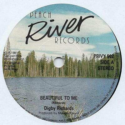"Digby Richards - Beautiful To Me - 7"" Single"