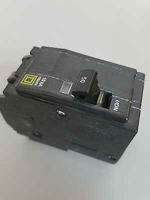 New Square D QO250 Circuit Breaker Interruptor 50A 50 Amp 2 Pole 120/240 Volt