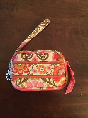 Discontinued Vera Bradley Zip Card Case Wristlet