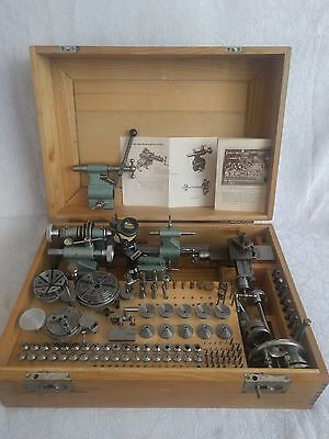 Watchmakers Jewelers lathe 8 mm / Andra & Zwingenberger