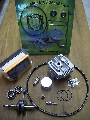 Stihl TS400 Rebuild Kit Overhaul - Fits TS 400 Stihl Saw - Cylinder, piston