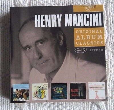 Original Album Classics by Henry Mancini (CD, 5 Discs) Like new, free shipping