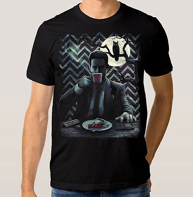 Twin Peaks Agent Cooper T-Shirt David Lynch 100% Cotton Dale Cooper Tee