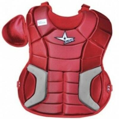 New All-Star Catcher Chest protector CPW14.5FP 37cm Navy/Grey Fastpitch. Deliver