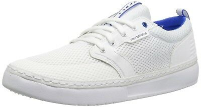 (4 D(M) US, White/Blue) - New Balance Men's Apres Baseball Shoe. Free Delivery