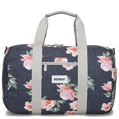 (Rose Navy) - Vooray Roadie 41cm Small Gym Duffle Bag. Huge Saving