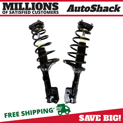 Rear Pair (2) Complete Strut Assembly w/Coil Spring Fits 2005-2010 Kia Sportage