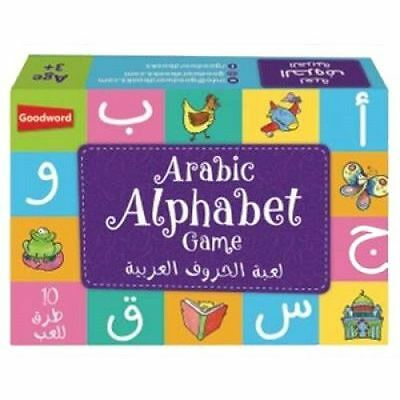 Arabic Alphabet Game - 28 Flashcards (Children Kids Play Learn Goodword)