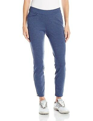 (Small, Raw Purple) - adidas Golf Womens Ponte Ankle Pant. Free Delivery