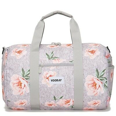 (Rose Gray) - Vooray Roadie 41cm Small Gym Duffle Bag. Best Price