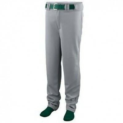 Series Baseball/Softball Pants - SILVER GREY - LARGE. Augusta. Shipping Included