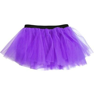 (Neon Purple) - Runners Tutu | Lightweight | One Size Fits Most | Colourful Runn