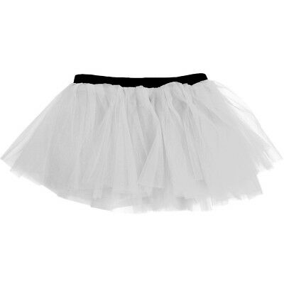 (White) - Runners Tutu | Lightweight | One Size Fits Most | Colourful Running Sk