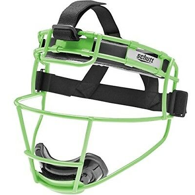 Schutt Youth Softball Fielders Face Mask NEON GREEN. Best Price