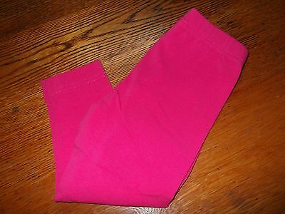 Toddler Girls, Little Girls LEGGINGS-NWOT-by HANNA ANDERSSON-Size 2T-BRIGHT PINK